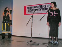 Iffer & Eliza of the Women's Empowerment Team
